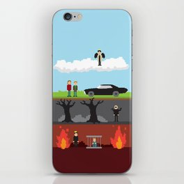 Supernatural - From Heaven and Hell iPhone Skin