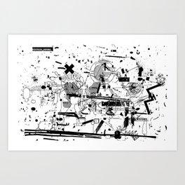 MUMBLE MUMBLE #3 Art Print
