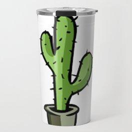 cactos graphic design Travel Mug
