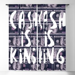Cash is King Blackout Curtain