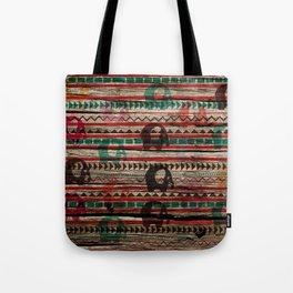 Elephant Wood Tote Bag