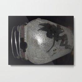 Lounging Pixie Lamp Metal Print