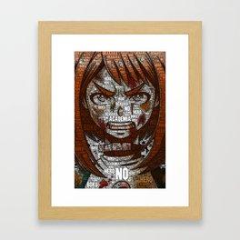 Ochako Uraraka - Boku no Hero Academia   My Hero Academia Framed Art Print