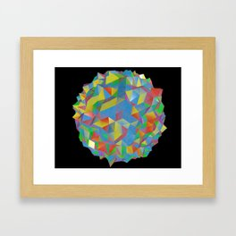 IsoPixel Framed Art Print
