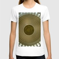 washington dc T-shirts featuring Looking Up - Capitol Rotunda, Washington DC by David Hohmann