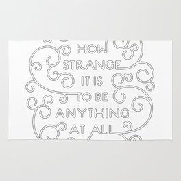 Neutral Milk Hotel - How Strange It Is To Be Anything At All Rug