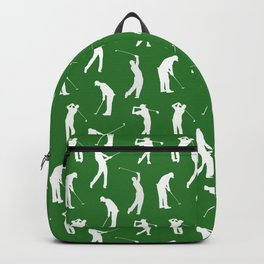 Golfers on the Fairway Backpack