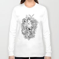 into the wild Long Sleeve T-shirts featuring Wild by AnggaAgustiya