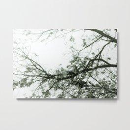 Enter Here (Green) Metal Print
