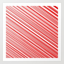 Peppermint Candy Art Print
