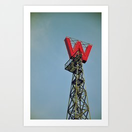 Woodwards Vancouver Art Print