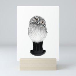 Sharp eyed Owen Mini Art Print