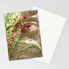 flowering vines Stationery Cards