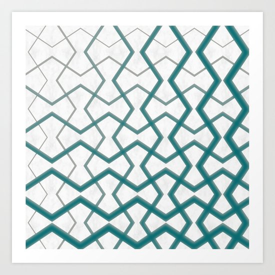Biscay Bay Under Marble Tiles Art Print