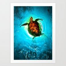 Seafarer Art Print