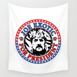 Joe Exotic For President Wall Tapestry