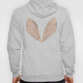 Cicada Wings in Rose Gold Hoody