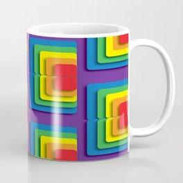 Rainbow Squere Coffee Mug