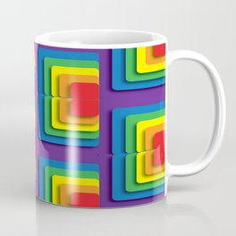 Rainbow Squere Coffee Mug