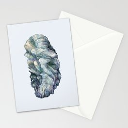 Shell watercolor illustration 1 Stationery Cards
