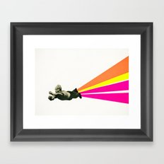 Superhero Framed Art Print