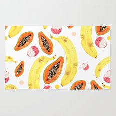 tropical juice (white) Rug