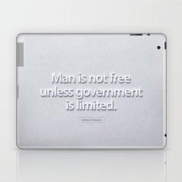 President Ronald Reagan Quote Laptop & iPad Skin