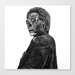 they live II Canvas Print