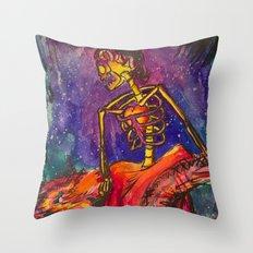 Folklorico Dancer Throw Pillow