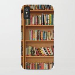 Bookshelf Books Library Bookworm Reading iPhone Case