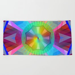 Sunday Mandala 36 Beach Towel