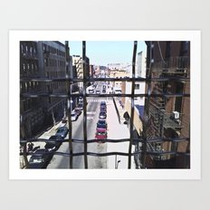 wrong turn in brooklyn Art Print