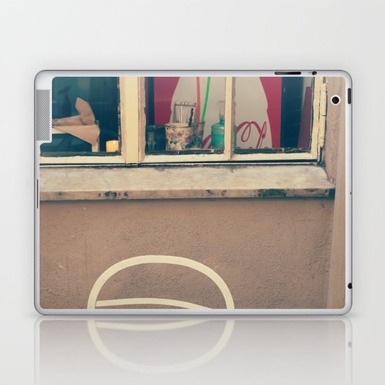 A little corner - vintage retro photography - still life  Laptop & iPad Skin