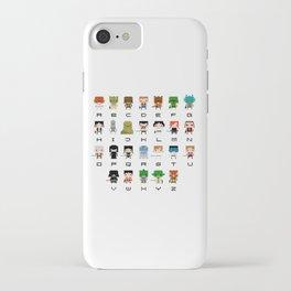 Star Wars Alphabet iPhone Case