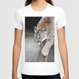 Cougar on a tree branch T-shirt