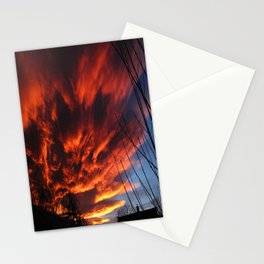 sunset 1 Stationery Cards