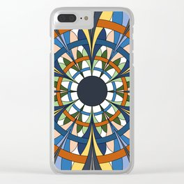 Jumping Through Hoops Clear iPhone Case