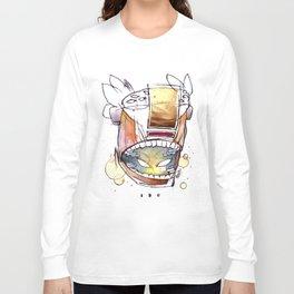 Coffee Face 05 Long Sleeve T-shirt
