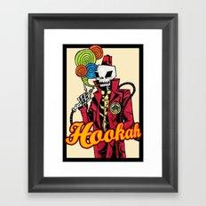 Hookah Framed Art Print