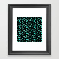 Colorful Lovely Pattern XVII Framed Art Print
