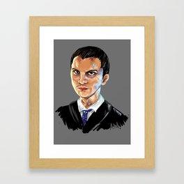 Jim Moriarty Framed Art Print