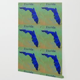 Florida Map Wallpaper