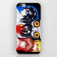 death note iPhone & iPod Skins featuring Death Note  by Amana HB