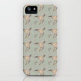 Hokusai Cuckoo and azaleas 2 -hokusai,manga,japan,Katsushika,cuckoo,azaleas,Rhododendron iPhone Case