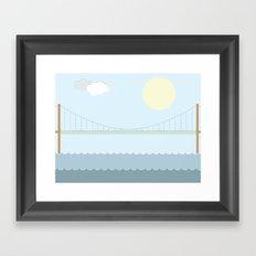 Älvsborgsbron Framed Art Print