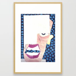 A Generous Giver Of Unsolicited Advise Framed Art Print