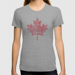 Maple Leaf - red T-shirt