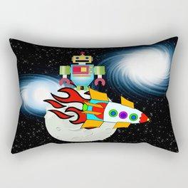 Moon Walk Children's Art Rectangular Pillow