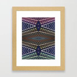 Mixer Matrix  Framed Art Print