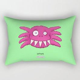 Soft Tooth Rectangular Pillow